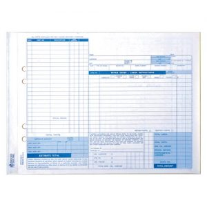 AUTO INDUSTRY FORMS